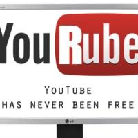 YouRube! (YouTube has never been free)