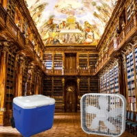 How to stay cool in a library